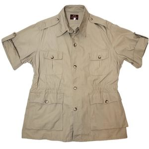 Willis & Geiger outfitters safari military jacket